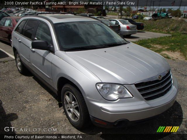 bright silver metallic 2008 chrysler pacifica touring. Black Bedroom Furniture Sets. Home Design Ideas