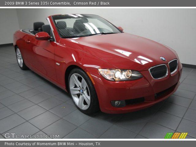 Crimson Red 2009 Bmw 3 Series 335i Convertible Black