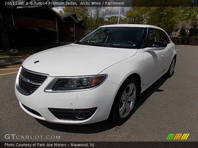 arctic white 2011 saab 9 5 turbo4 premium sedan. Black Bedroom Furniture Sets. Home Design Ideas
