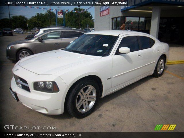 Stone white 2006 dodge charger r t dark slate gray for G stone motors used cars
