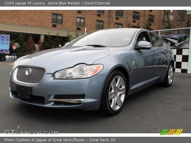 2009 Jaguar XF Luxury in Azure Blue Metallic