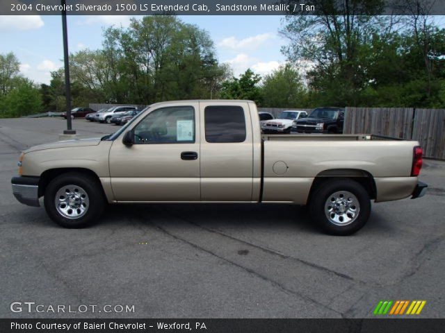 sandstone metallic 2004 chevrolet silverado 1500 ls. Black Bedroom Furniture Sets. Home Design Ideas