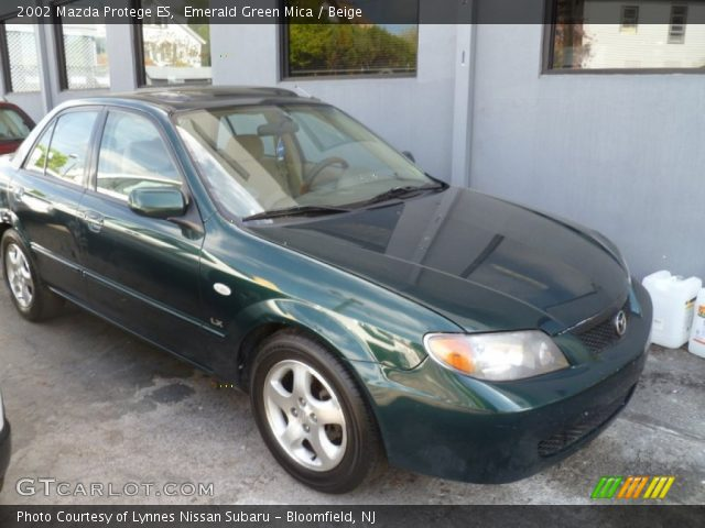 2002 Mazda Protege ES in Emerald Green Mica