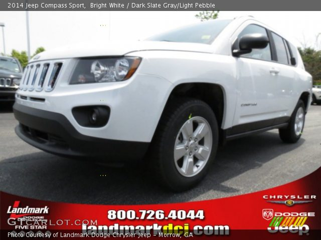 bright white 2014 jeep compass sport dark slate gray. Black Bedroom Furniture Sets. Home Design Ideas
