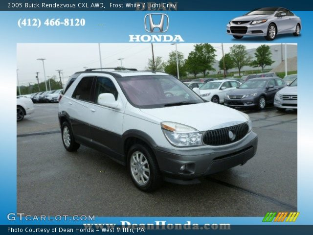 2005 Buick Rendezvous CXL AWD in Frost White