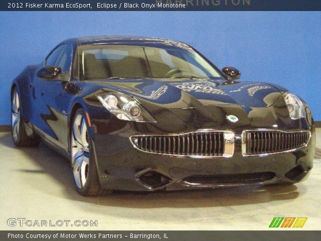 2012 Fisker Karma EcoSport in Eclipse