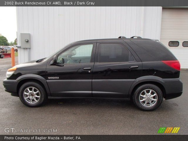 2002 Buick Rendezvous CX AWD in Black