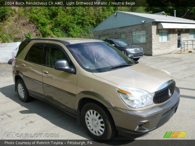 2004 Buick Rendezvous CX AWD in Light Driftwood Metallic