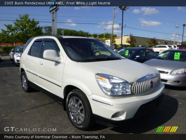 frost white 2005 buick rendezvous ultra awd light. Black Bedroom Furniture Sets. Home Design Ideas