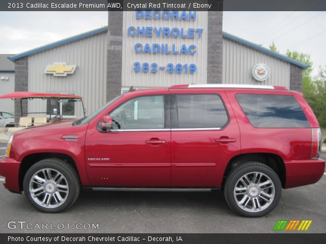2013 Cadillac Escalade Premium AWD in Crystal Red Tintcoat