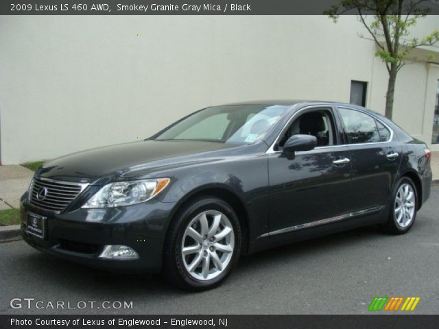 smokey granite gray mica 2009 lexus ls 460 awd black. Black Bedroom Furniture Sets. Home Design Ideas