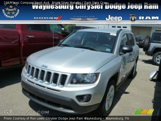 bright silver metallic 2014 jeep compass sport 4x4. Black Bedroom Furniture Sets. Home Design Ideas