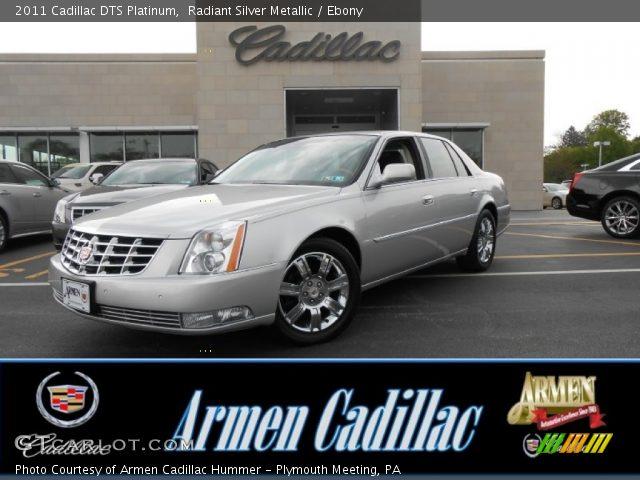 2011 Cadillac DTS Platinum in Radiant Silver Metallic