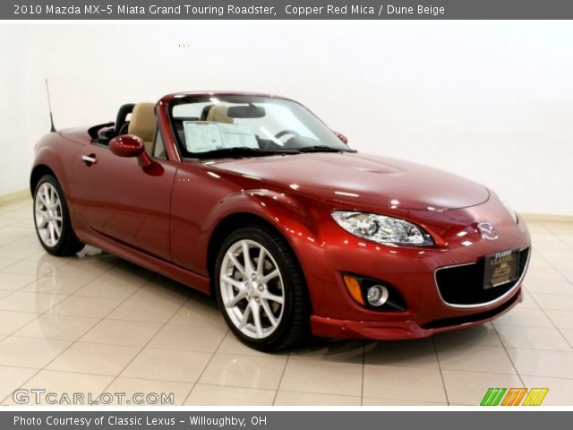 copper red mica 2010 mazda mx 5 miata grand touring. Black Bedroom Furniture Sets. Home Design Ideas
