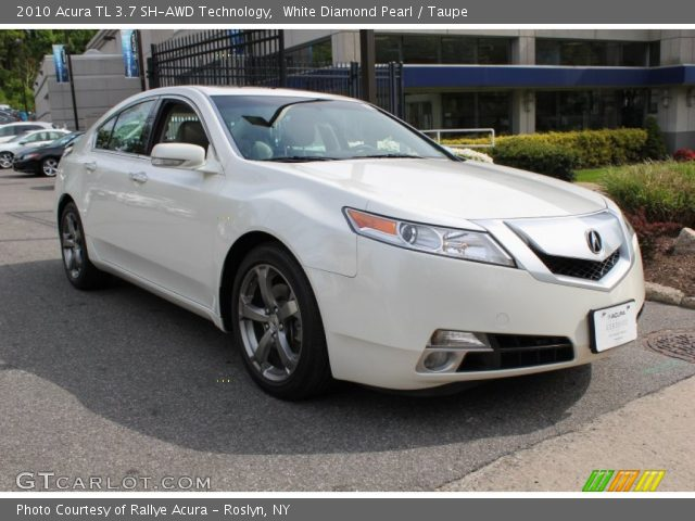 white diamond pearl 2010 acura tl 3 7 sh awd technology. Black Bedroom Furniture Sets. Home Design Ideas
