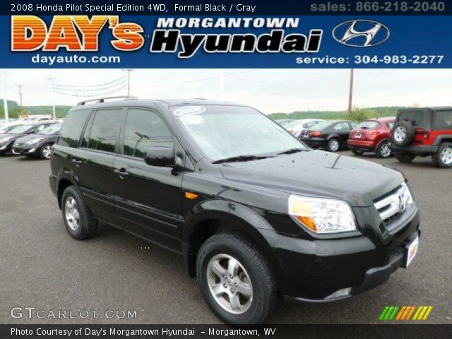 2008 Honda Pilot Special Edition 4WD in Formal Black