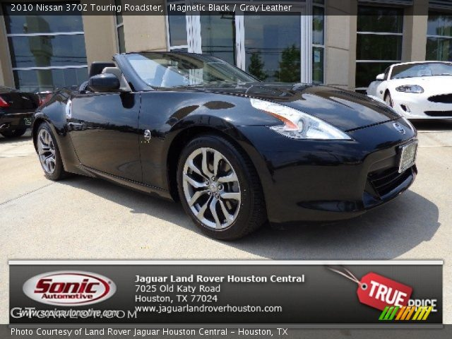 magnetic black 2010 nissan 370z touring roadster gray. Black Bedroom Furniture Sets. Home Design Ideas