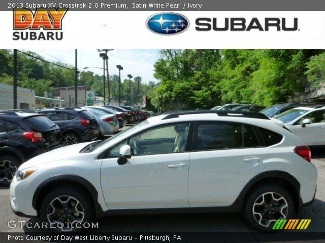Used Outback Fayetteville Ar >> 2013 Subaru Xv Crosstrek 20 Premium In Satin White Pearl ...