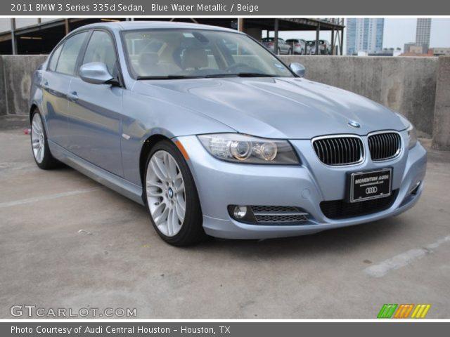 BMW 335D For Sale >> Blue Water Metallic - 2011 BMW 3 Series 335d Sedan - Beige Interior | GTCarLot.com - Vehicle ...