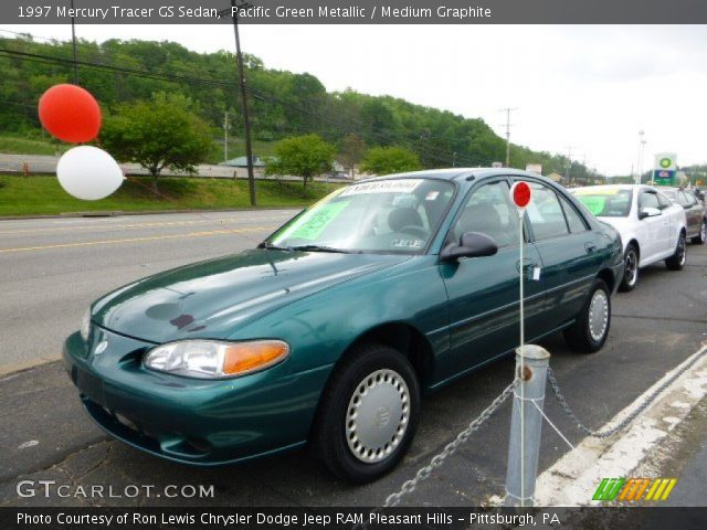 1997 Mercury Tracer GS Sedan in Pacific Green Metallic