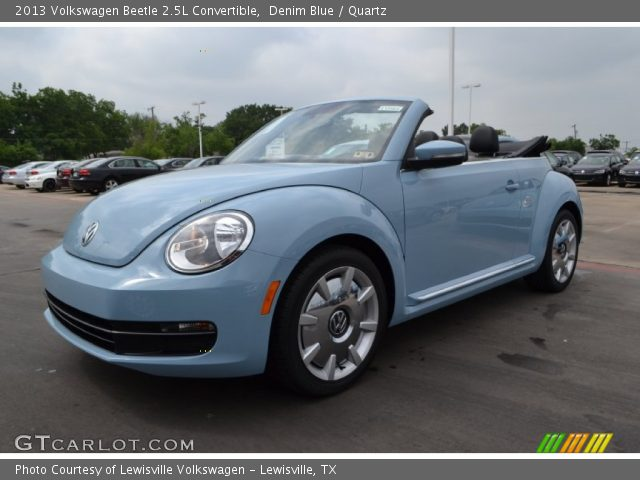 denim blue 2013 volkswagen beetle 2 5l convertible. Black Bedroom Furniture Sets. Home Design Ideas