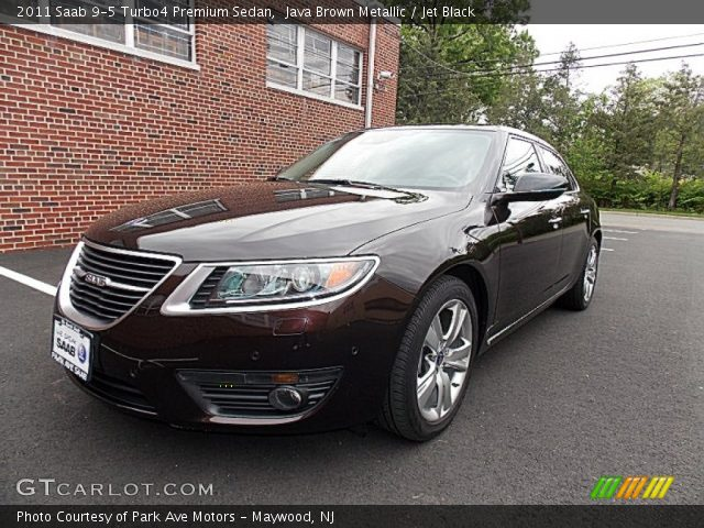 java brown metallic 2011 saab 9 5 turbo4 premium sedan. Black Bedroom Furniture Sets. Home Design Ideas