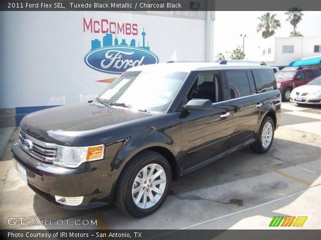 tuxedo black metallic 2011 ford flex sel charcoal. Black Bedroom Furniture Sets. Home Design Ideas