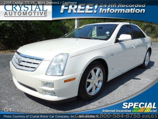 2006 Cadillac STS V6 in White Diamond