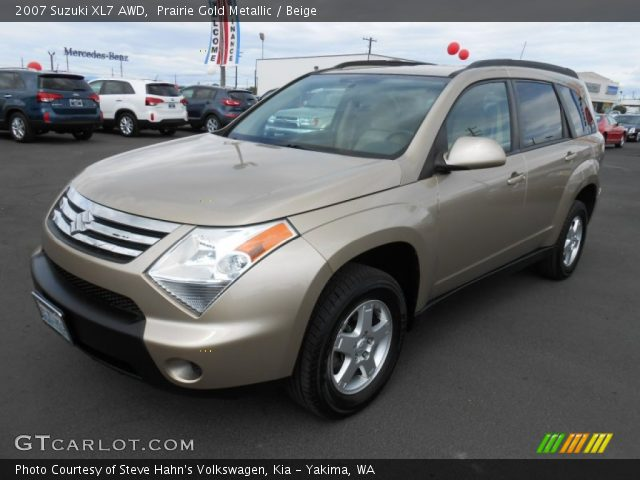 2007 Suzuki XL7 AWD in Prairie Gold Metallic