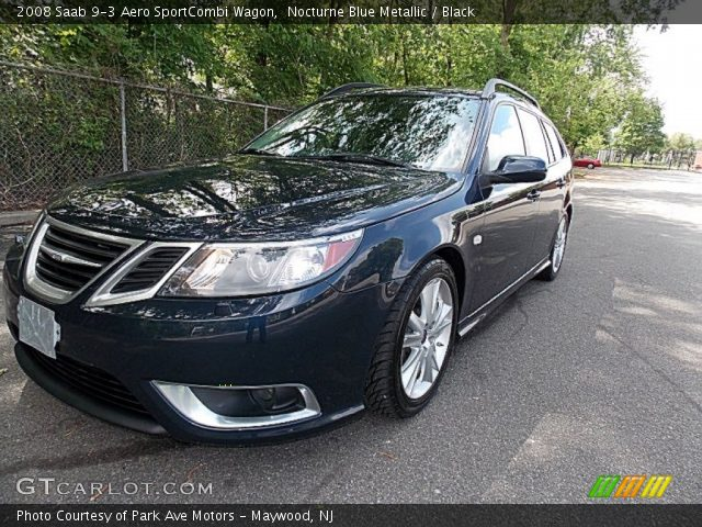 nocturne blue metallic 2008 saab 9 3 aero sportcombi. Black Bedroom Furniture Sets. Home Design Ideas