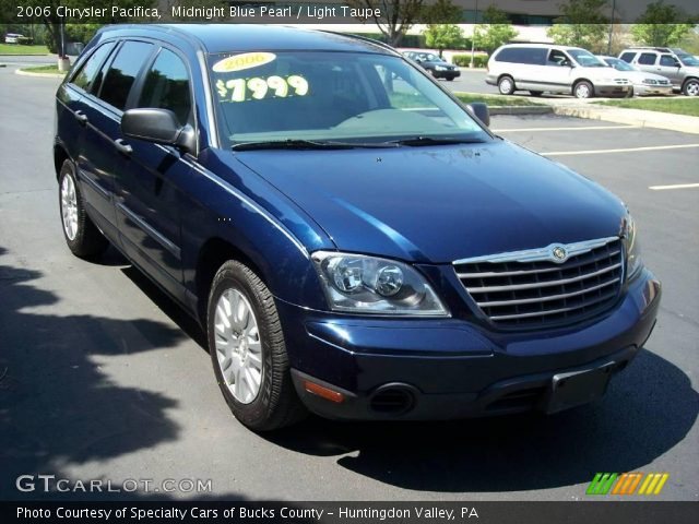 Midnight Blue Pearl 2006 Chrysler Pacifica Light Taupe Interior Vehicle