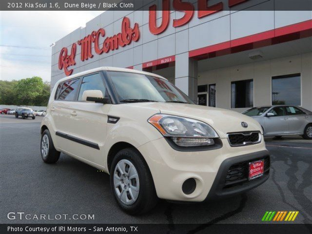 Dune beige 2012 kia soul 1 6 black cloth interior vehicle archive 81287903 2012 kia soul exterior colors