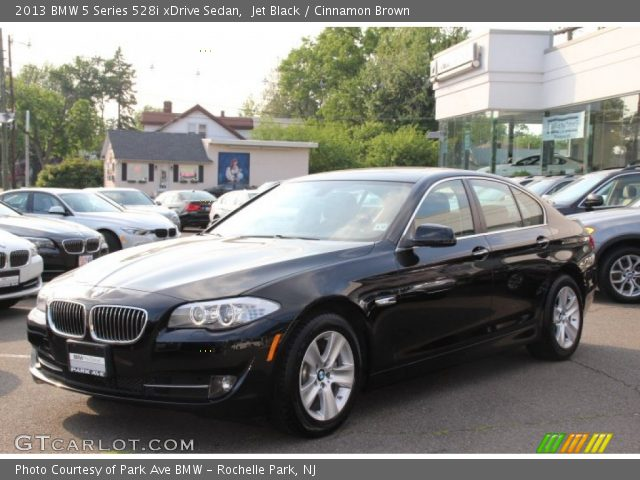 jet black 2013 bmw 5 series 528i xdrive sedan cinnamon brown interior. Black Bedroom Furniture Sets. Home Design Ideas