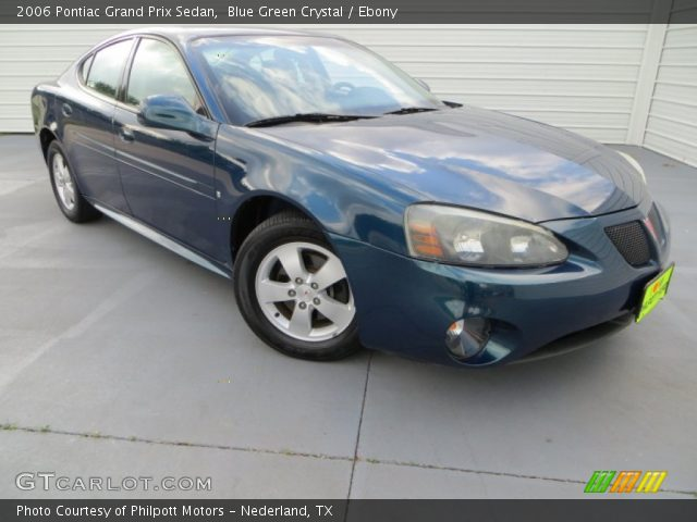 2006 Pontiac Grand Prix Sedan in Blue Green Crystal