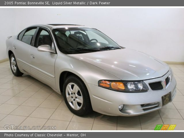 2005 Pontiac Bonneville SE in Liquid Silver Metallic