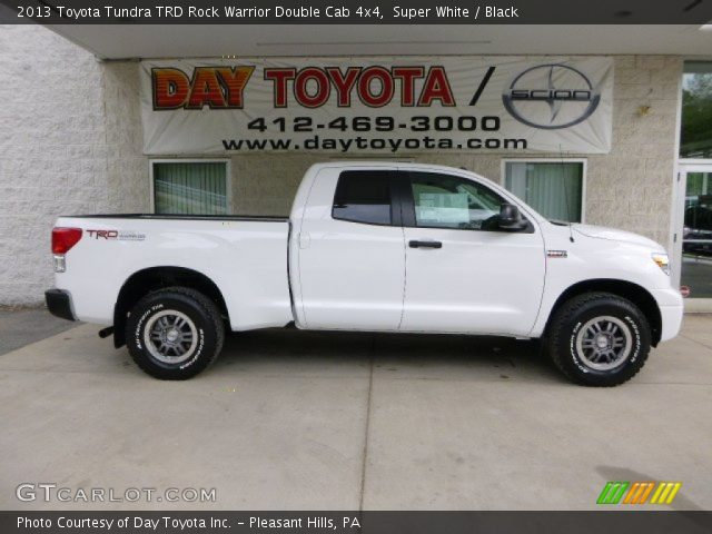 super white 2013 toyota tundra trd rock warrior double. Black Bedroom Furniture Sets. Home Design Ideas