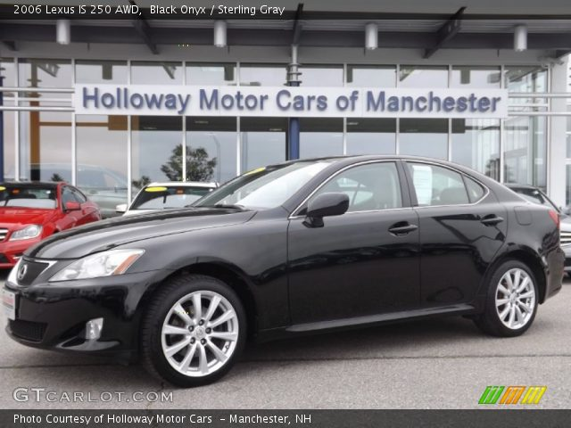 black onyx 2006 lexus is 250 awd sterling gray interior vehicle archive. Black Bedroom Furniture Sets. Home Design Ideas