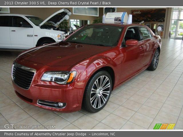 Deep cherry red crystal pearl 2013 chrysler 300 s v6 - Chrysler 300 red interior for sale ...