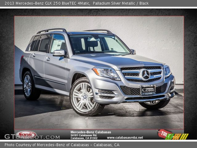 2013 Mercedes-Benz GLK 250 BlueTEC 4Matic in Palladium Silver Metallic