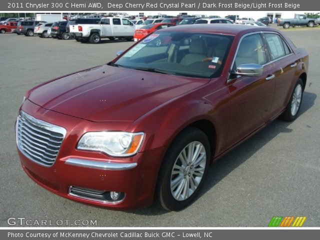 2011 Chrysler 300 C Hemi AWD in Deep Cherry Red Crystal Pearl