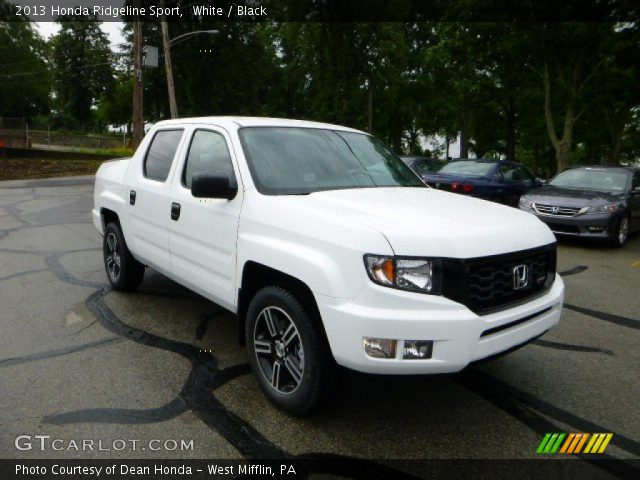white 2013 honda ridgeline sport black interior. Black Bedroom Furniture Sets. Home Design Ideas