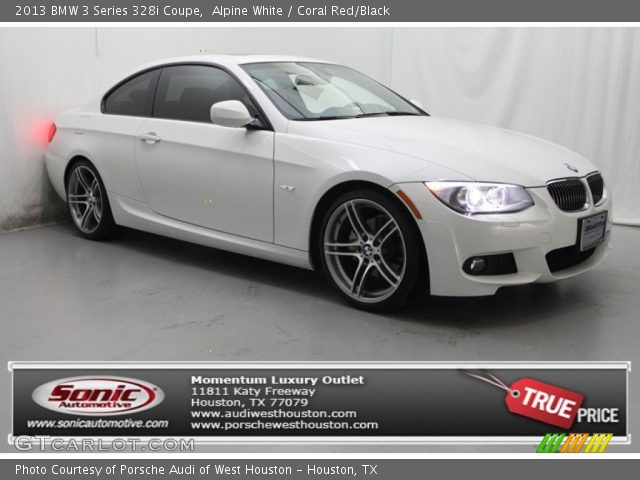 Alpine White   2013 BMW 3 Series 328i Coupe   Coral Red Black: Alpine White   2013 BMW 3 Series 328i Coupe   Coral Red Black,