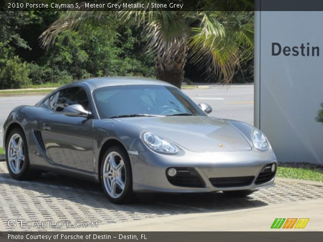 meteor grey metallic 2010 porsche cayman s stone grey. Black Bedroom Furniture Sets. Home Design Ideas