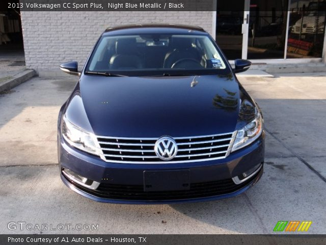 night blue metallic 2013 volkswagen cc sport plus black interior vehicle. Black Bedroom Furniture Sets. Home Design Ideas