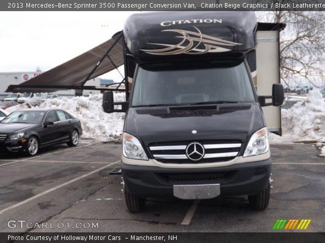 2013 Mercedes-Benz Sprinter 3500 Passenger Conversion Van in Citation Beige Graphics