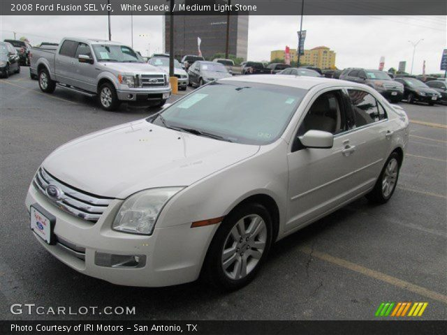 2008 Ford Fusion SEL V6 in White Suede