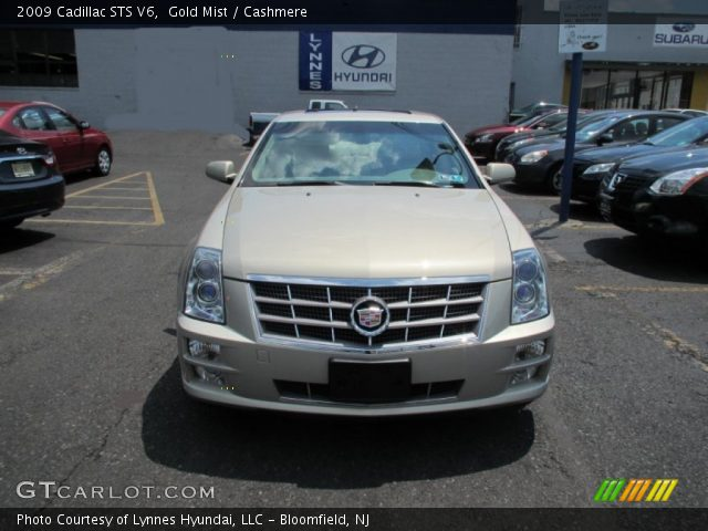 2009 Cadillac STS V6 in Gold Mist