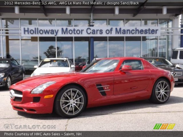 2012 Mercedes-Benz SLS AMG in AMG Le Mans Red Metallic