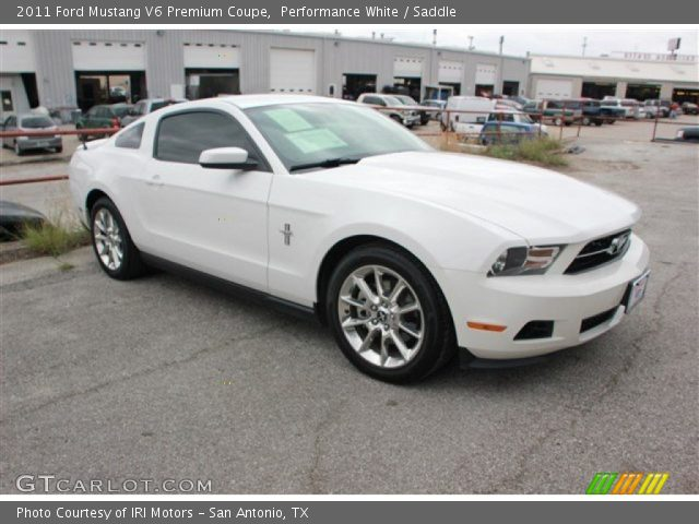 performance white 2011 ford mustang v6 premium coupe. Black Bedroom Furniture Sets. Home Design Ideas