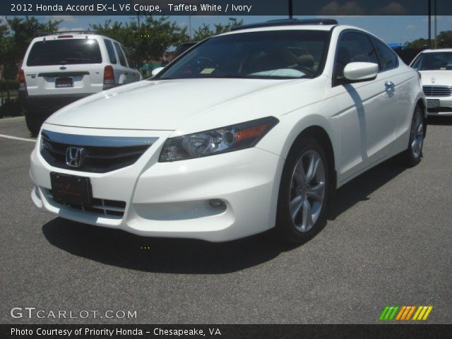 taffeta white 2012 honda accord ex l v6 coupe ivory interior vehicle. Black Bedroom Furniture Sets. Home Design Ideas
